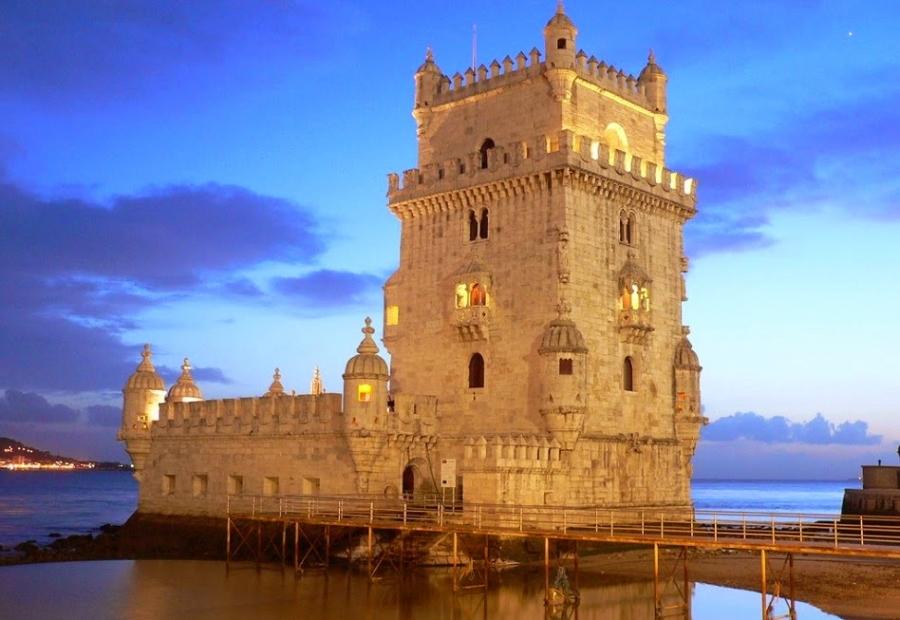 La torre di Belém 7 meraviglie del Portogallo