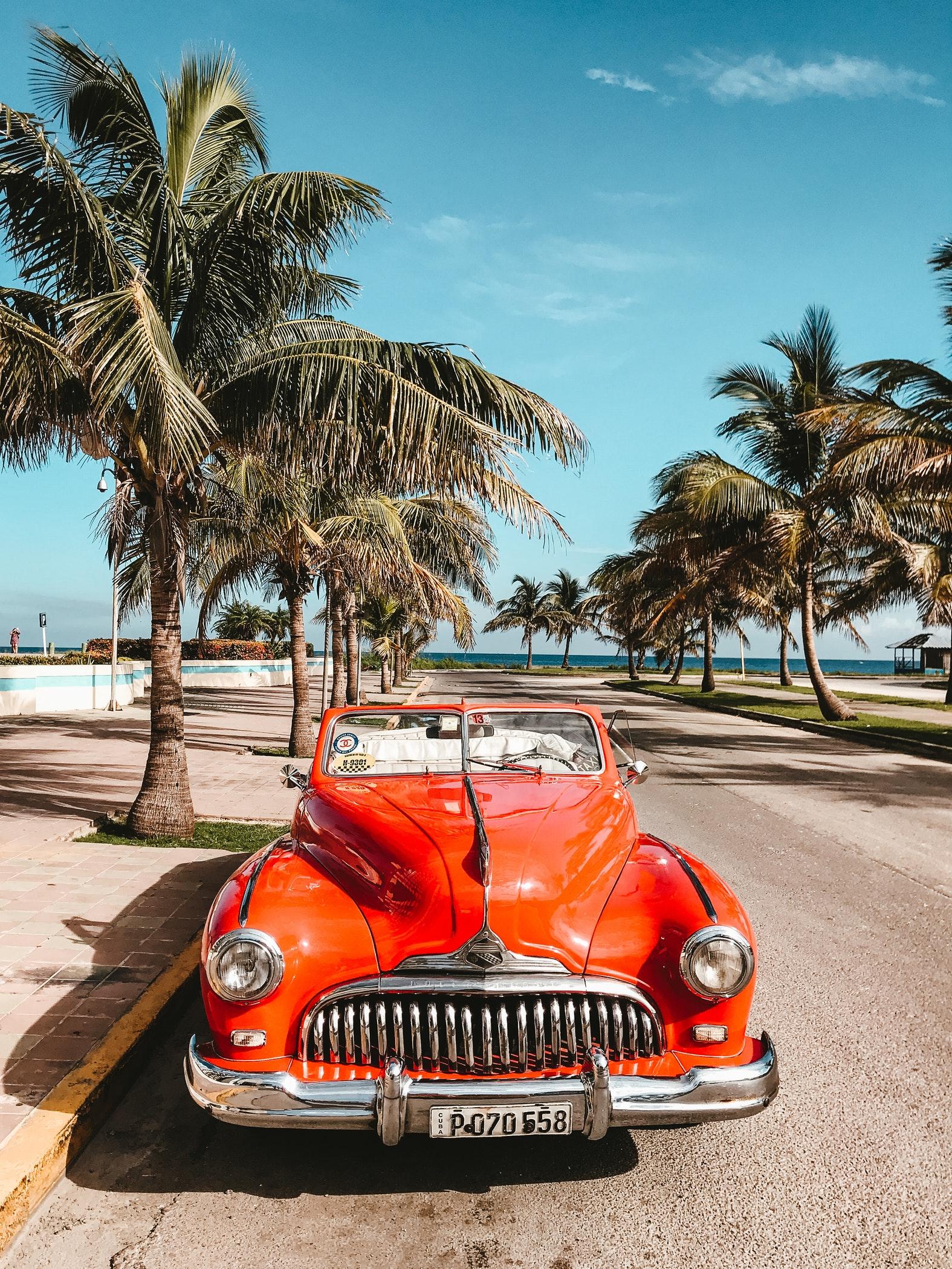 auto d'epoca Cuba
